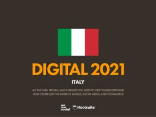 Digital 2021 in Italia
